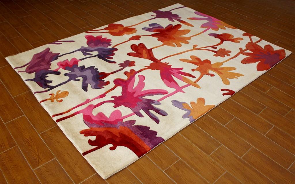 alfombra moderna estampados colores hant