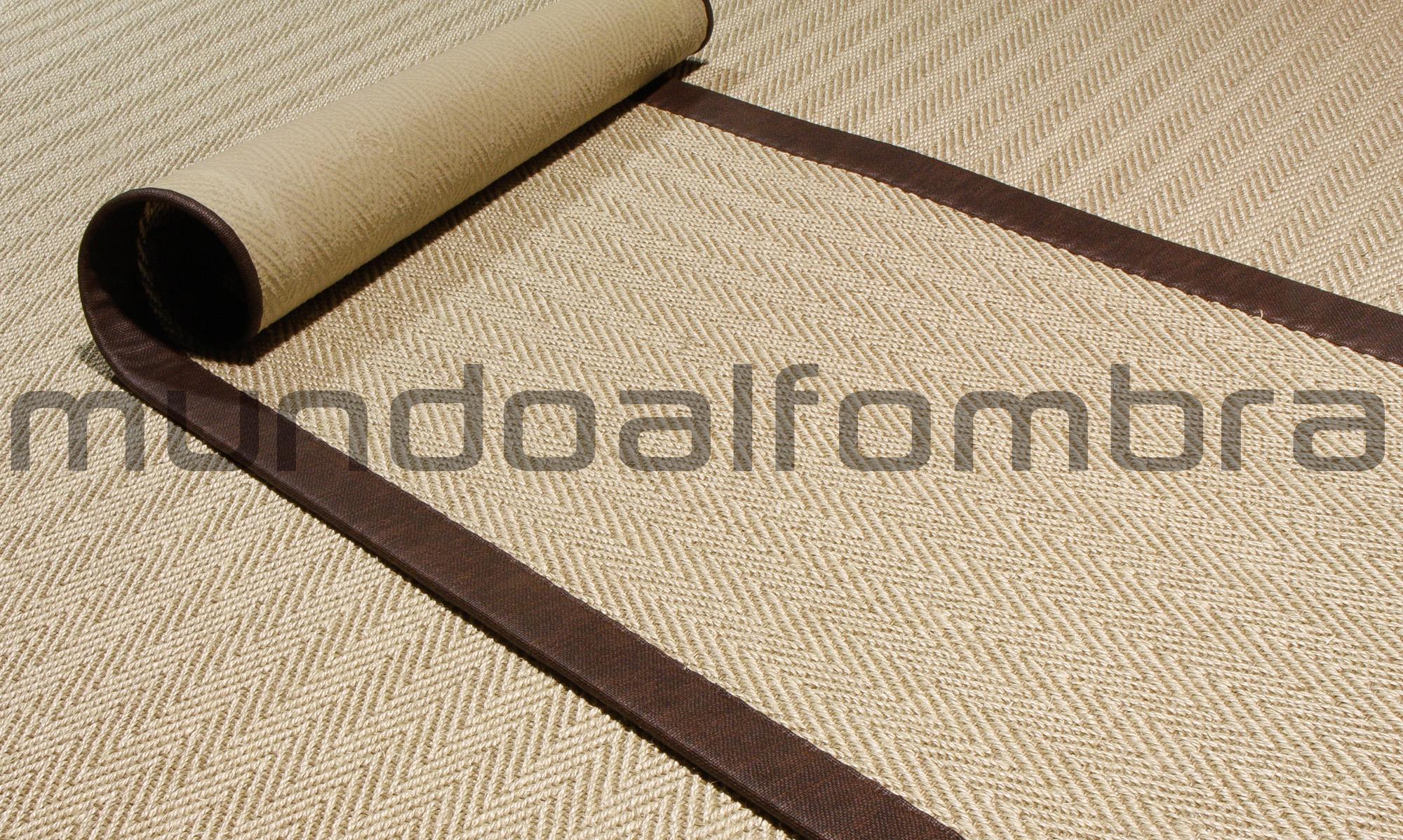alfombra sisal modelo Menorca disponible en mundoalfombra.com