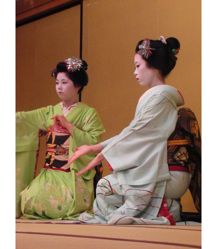 Geishas. Colección Japan de Enrique Eguino.
