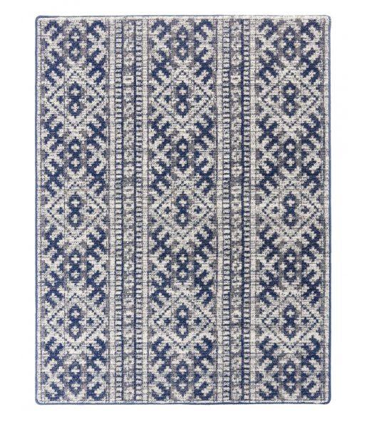 Amet. Alfombra de lana. Color Azul Marino.