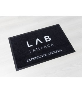Felpudo Logo Est. Ejemplos de 60x90 cm.