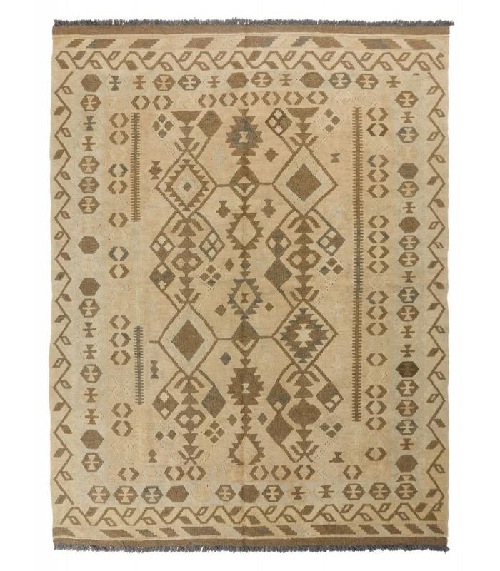 Kilim Antik Maimana 507. Alfombra manual de Lana 149x195