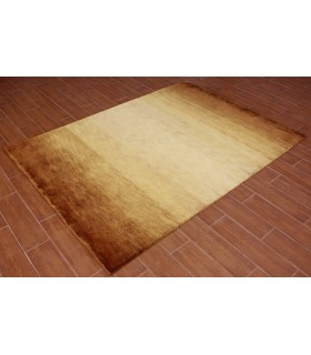 Degrad. Alfombra de Lana Outlet. Color Oro.