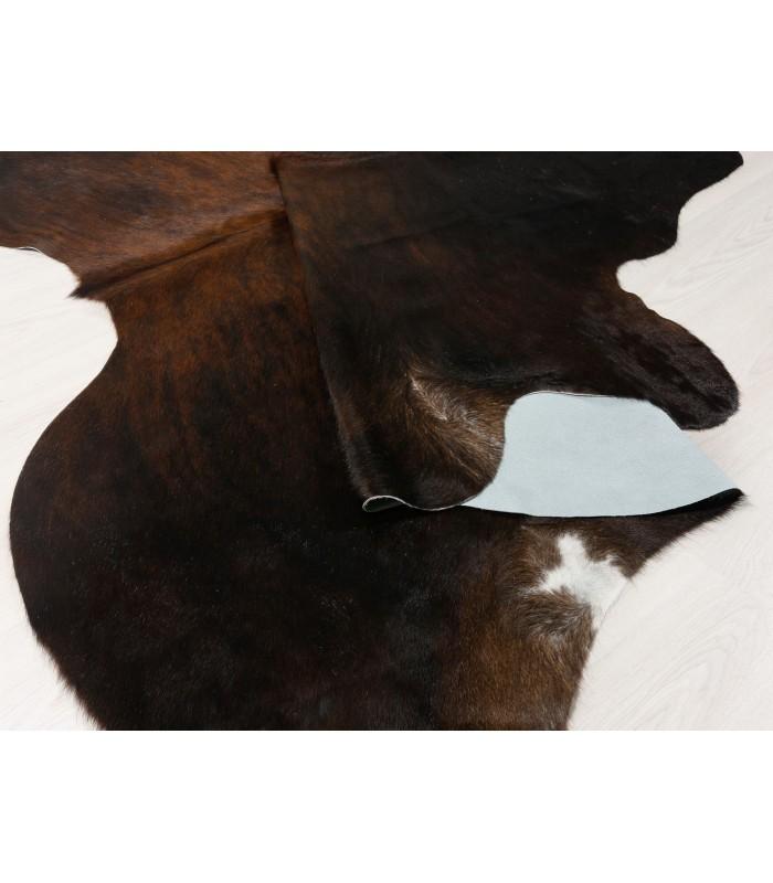 Alfombra Piel de Vaca Marrón 396