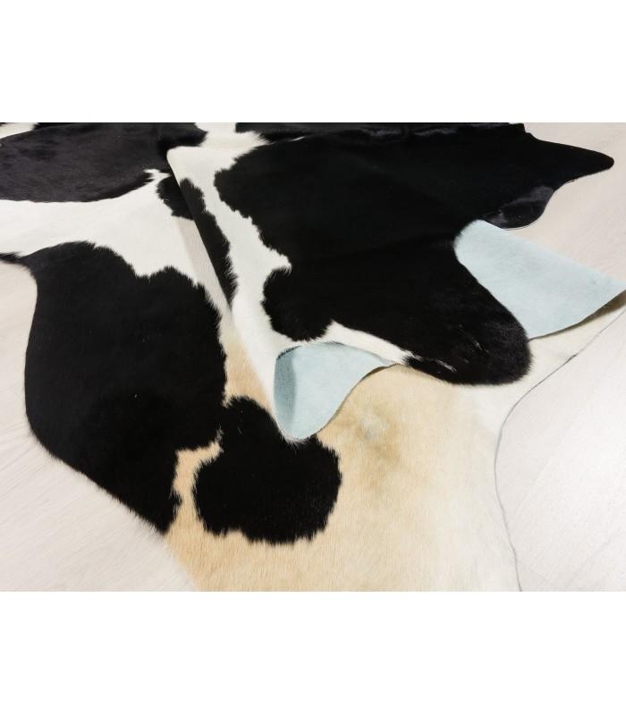 Alfombra Piel de Vaca Negra y Blanca 392