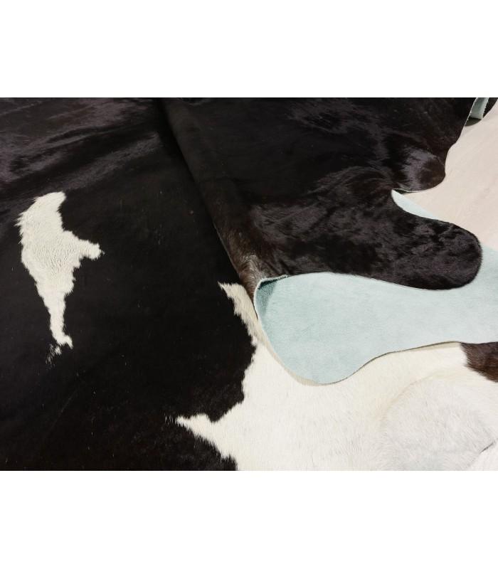 Alfombra Piel de Vaca Negra y Blanca 373
