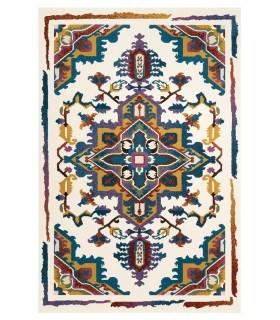Alfombra Personalizada de Lana Custom Wool. Combinación B. Ejemplo para cliente.
