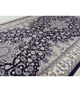 Azahar 51. Color Azul Marino. Unión de 2 alfombras.