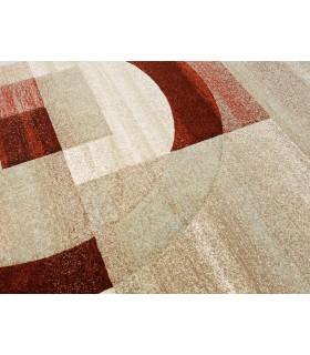 Alfombra de pura lana virgen. Modelo Persia 853. Color Beig.