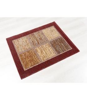 Mosaic 203. Alfombra de lana 90X115 cm..