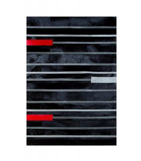 Alfombra Piel Black Line.