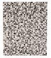 Alfombra de Piel Zebra 5x5 cm
