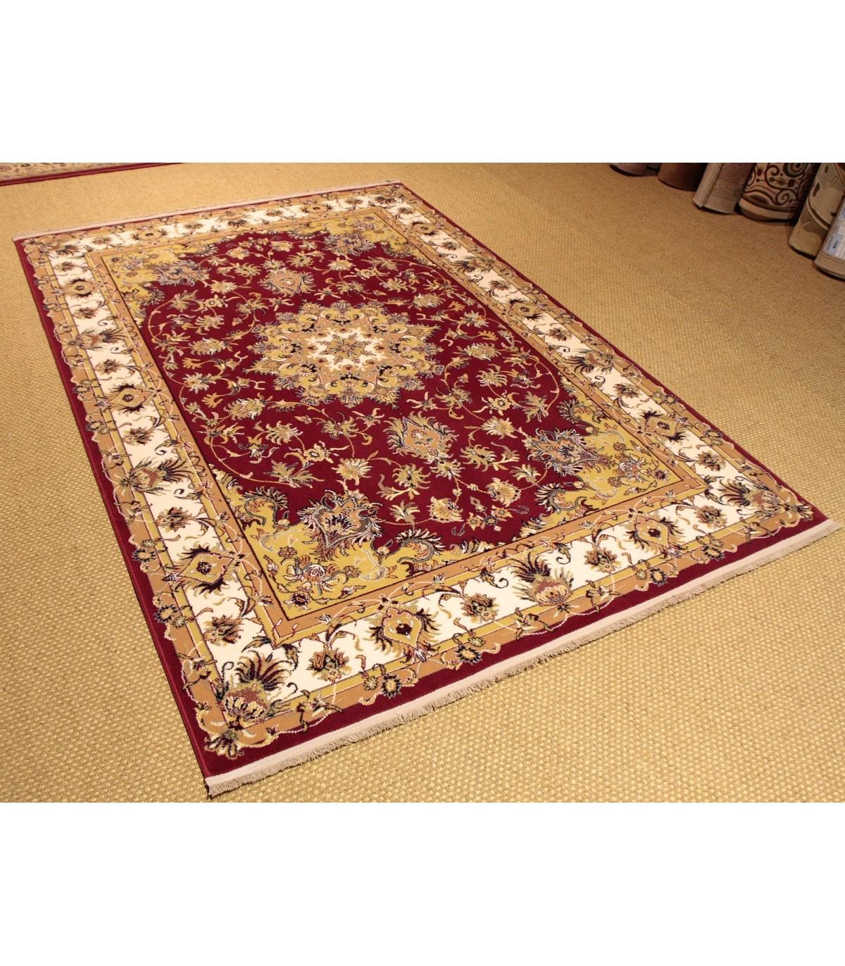 Alfombra Persia 872 clásica de pura lana 100% fabricada en