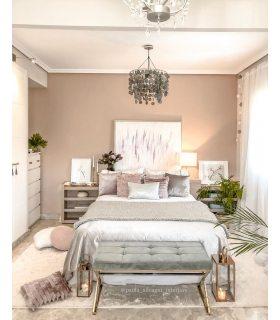 Soft Shaggy. Color Marfil. Foto de @Paula_silvagni_interiors