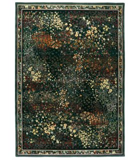 Alfombra de lana de estilo clásico Monet 15.