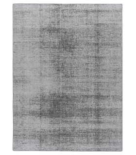 Alfombra de fibra reciclada Lunar Silk. Color Iridium. Medidas 170x230 cm. Borde Festón de Cinta.