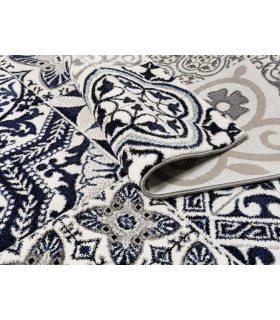 Azur 41. Alfombra Moderna con dibujo de baldosas hidráulicas.