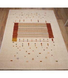 Alfombra de Lana a Medida con dibujo de estilo étnico. Custom Wool.