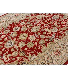 Alfombra de lana Bolonia. Color Grana.