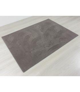 Alfombra de lana de color liso 316. 140x200 cm. Borde Cinta Duo D01.