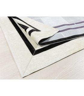 Alfombra de Piel a Medida BM1. Color Blanco.