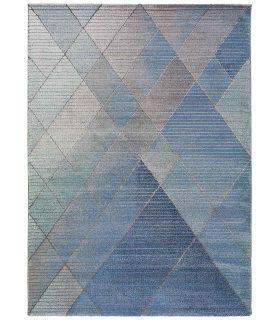 Alfombra Yoko 92. Color Azul.