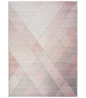 Alfombra Yoko 92. Color Rosa.