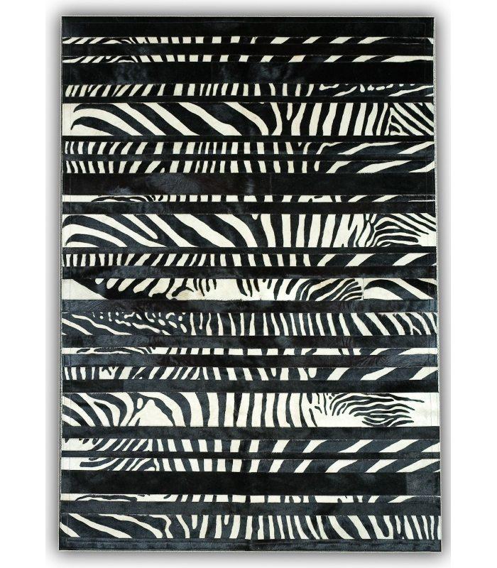 Cebra Design. Alfombra de Piel.