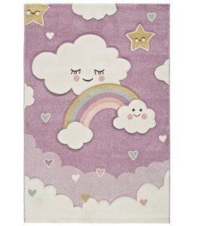Toys 84. Alfombra infantil de nubes y arcoiris..
