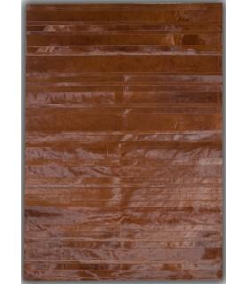 Brown Stripes. Alfombra de Piel.