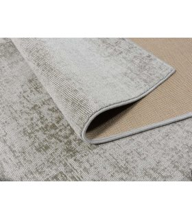 Alfombra de fibra reciclada Lunar Silk. Color Ancient. Medidas 170x230 cm. Borde Festón de Cinta.