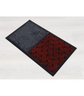 Felpudo ANTIV TT - 2 en 1- Para líquido Desinfectante y Secante. 39x69 cm. Color Rojo.