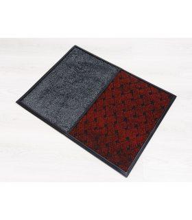 Felpudo ANTIV TT - 2 en 1- Para líquido Desinfectante y Secante. 59x79 cm. Color Rojo.