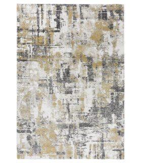 Alfombra Moderna Estilo Abstracto Mehari 284. Color Gris.