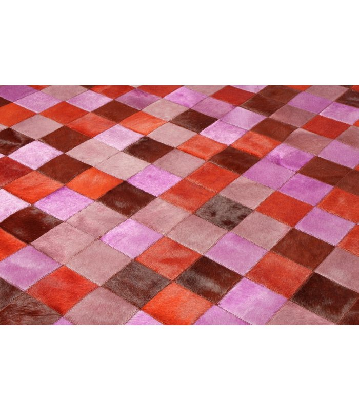 Patchwork Multy Rosa-Rojo