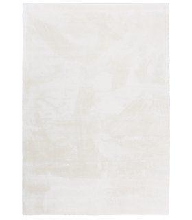 Alfombra lavable y antideslizante a medida Foxy. Color Blanco.
