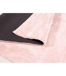 Alfombra lavable y antideslizante a medida Foxy. Color Rosa.