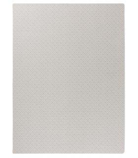 Alfombra de lana Diana Greek Key. Color Stone. 170x230.