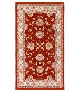 Alfombra de lana Byzan 546. Color Caldera. 90x160 cm.