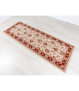 Alfombra de lana Byzan 546. Color Beig. 90x250 cm.