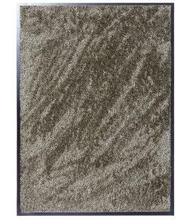 Felpudo absorbente, secante y lavable MICRO 35. Color Beige.