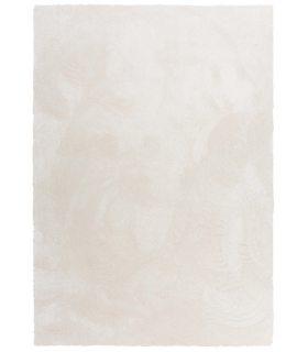 Torino. Alfombra de pelo medio A medida. Color Blanco.