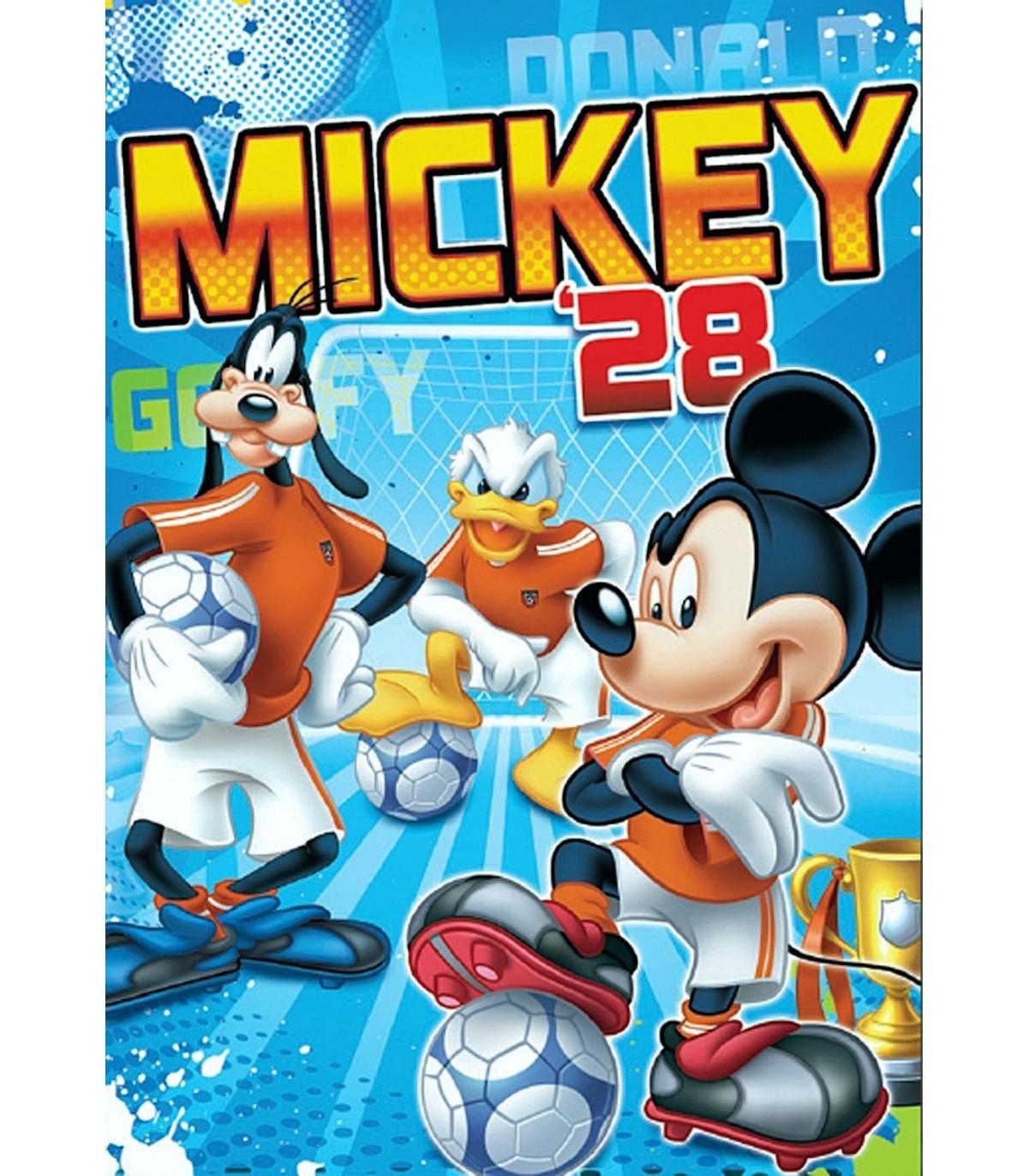 Alfombra Mickey futbolista. Modelo Stamp 35. Alfombra