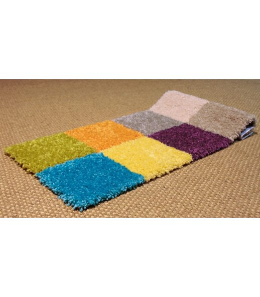 Alfombra barata online de fibra sintetica 8 colores for Alfombras sinteticas a medida