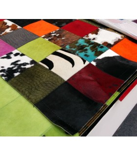Patchwork Multy Colores. Cuadros 20x20 cm.