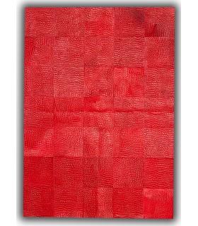 Patchwork Rivoli. Color Rojo.