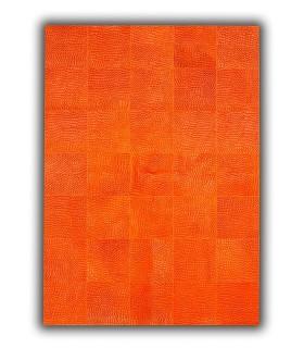 Patchwork Rivoli. Color Naranja.