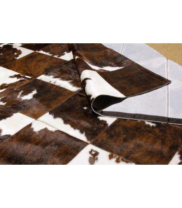 Patchwork Toro Normando. Cuadros 30x30 cm.