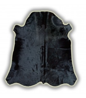 Piel de Toro Normando teñido en Negro