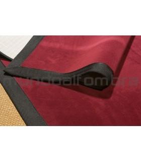 Modelo Craster. Color 330. Cenefa Microfibra Negro.